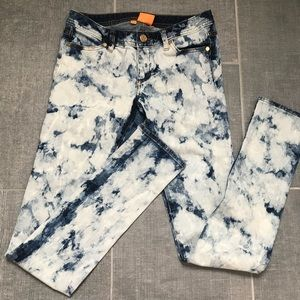 Tory  Burch Acid Wash Jeans